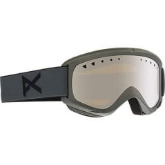 Maschera snowboard Helix grigia