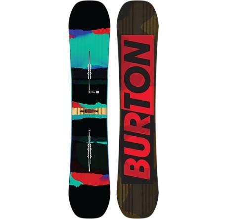 Tavola snowboard uomo process colore nero rosso burton - Tavola snowboard burton prezzi ...