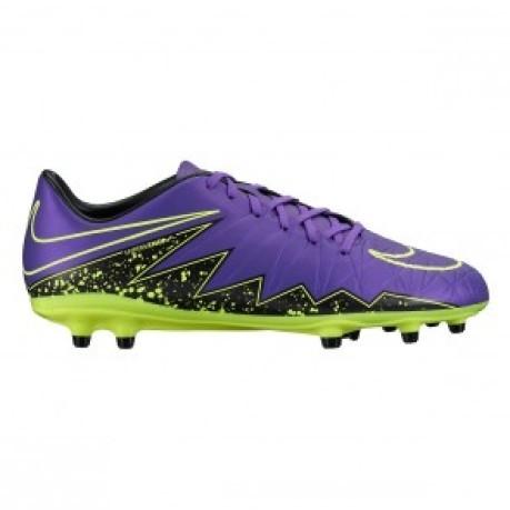 5bc7aca8775f Shoe Football Man Hypervenom Phelon II FG colore Violet Black - Nike ...