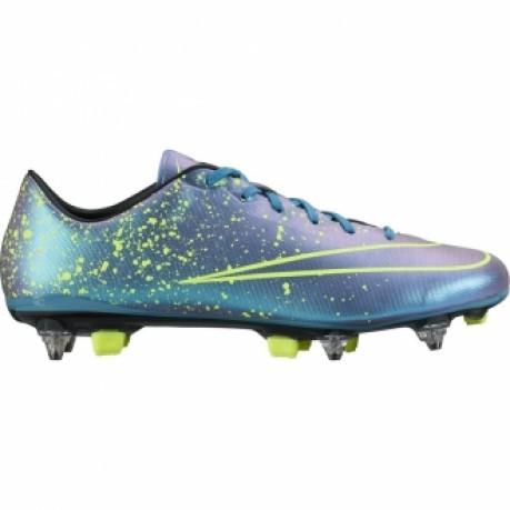 Scarpa Calcio Uomo Mercurial Veloce SG Pro colore Azzurro Blu Nike