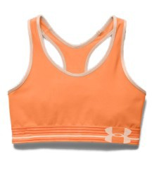Under Armour UA HeatGear Armour Sports Bra Black