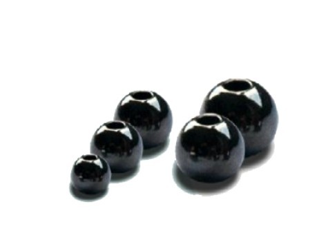 Brass Beads Black 2,8 mm