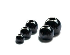 Brass Beads Black 3,3 mm
