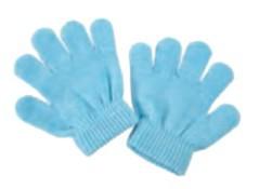 Guanti bambino invernali blu