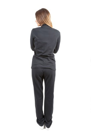 Tuta Donna Heritage Stretch Terry nero nero