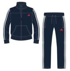 Tuta Adidas Blu Uomo