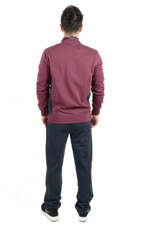 Tuta Uomo Sweat Suit Fall Fleece blu blu