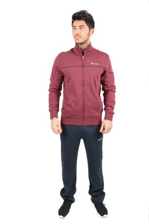 Tuta Uomo Interlock Full Zip blu blu