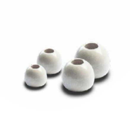 Brass Beads White 2,8 mm