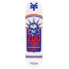 Tavola Skateboard Deck Liberty Leuge Bianco