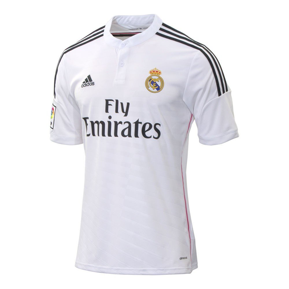 920e560dded19 Jersey Home Real Madrid 14 15 colore White - Adidas - SportIT.com