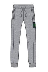 Pantalone Uomo grigio verde