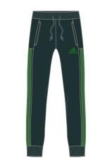 Pantalone LPM Idea nero verde