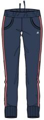 Il Pantalone Bambina Lpk 3S grigio