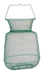 Cestino rete metallico ovale