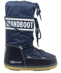 After Skiing Child GrandBoot blue