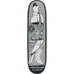 Tavola Skateboard Deck Tim Tim Zipper 8.12 grigio