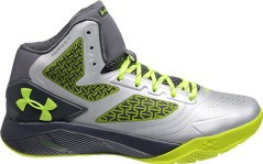Shoe Basketball Man Clutch Drive 2 grey green