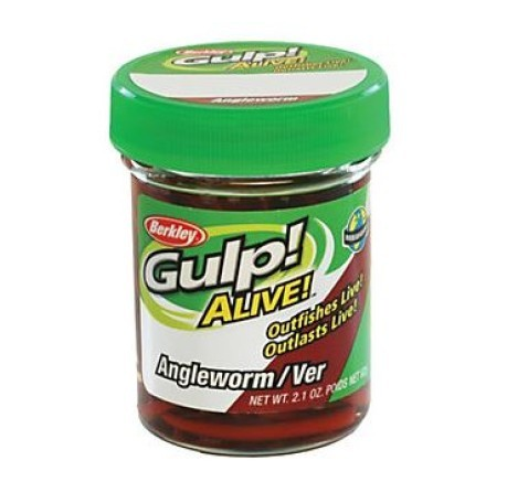 Berkley Gulp! Alive Angle worm Brown