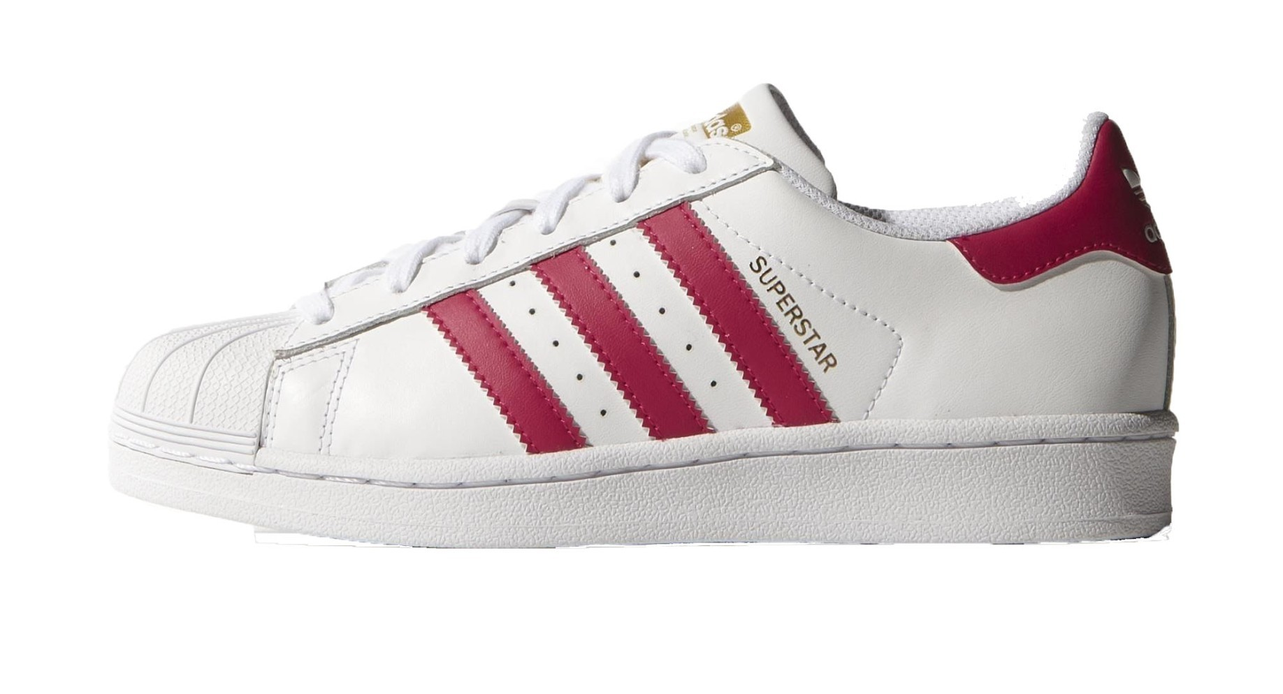 best website 7dff7 bef2b Scarpe bambino Superstar Foundation colore White Pink - Adidas - SportIT.com