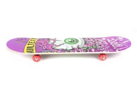 BODYLINE Skateboard Superstreet 80cm Fantasia 1 Skateboard Skating