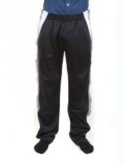 Pantalone Uomo Con Bottoni nero grigio