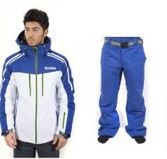 Giacca & Pantalone Uomo Crest bianco e blu