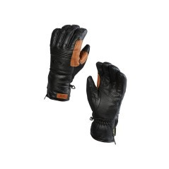 Gloves Man Silverado Gore-Text black brown