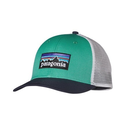 Hat P6 Trucker Hat colore Green Variant 1 - Patagonia - SportIT.com c6803a69275