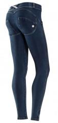 Panta jazz jeans blu