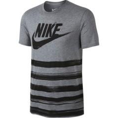 T-Shirt Uomo Flow Motion grigio nero