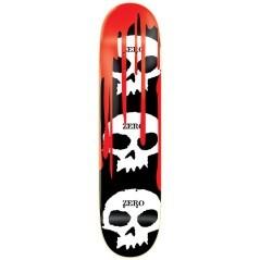 Skateboard Deck 3 Skull Blood R7 8.1 nero rosso