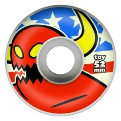 Ruote America Monster 52mm rosso-blu