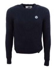 Maglione Uomo Grant 022 LambsWool blu