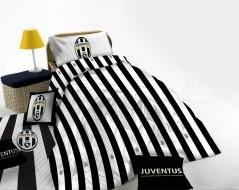 Trapunta Singola Juventus bianco nero