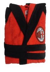 Accappatoio Spugna Milan rosso nero