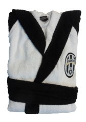 Accappatoio Juventus Bianco nero