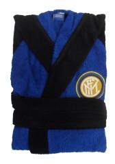 Accappatoio Spugna Inter nero azzurro