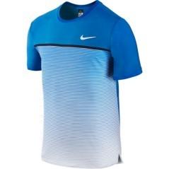T-Shirt Uomo Challenger Premier azzurro bianco