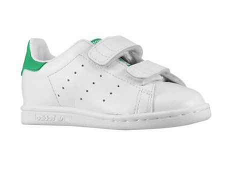 adidas originals stan smith bambino verde