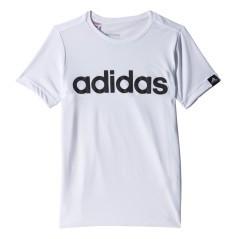 T-Shirt Bambino YB Ess bianco nero