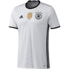 Maglia Replica Uomo Home Germania bianco nero front