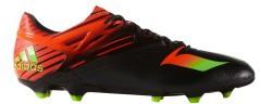 Scarpe Calcio Uomo Messi 15.1 nero rosso