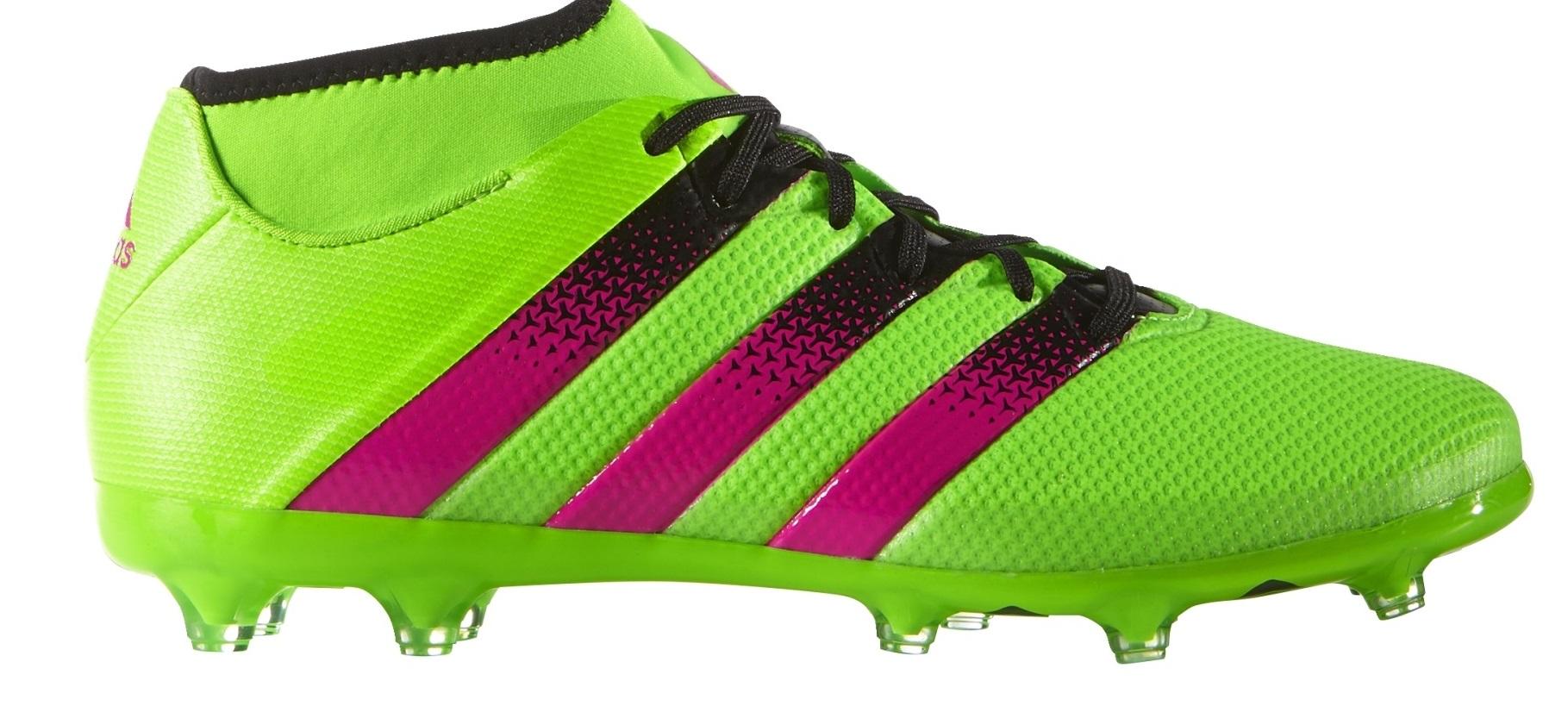 Botas de Fútbol Adidas Ace 16.2 PrimeMesh FG AG colore verde Rosa - Adidas  - SportIT.com 61d50004151d8