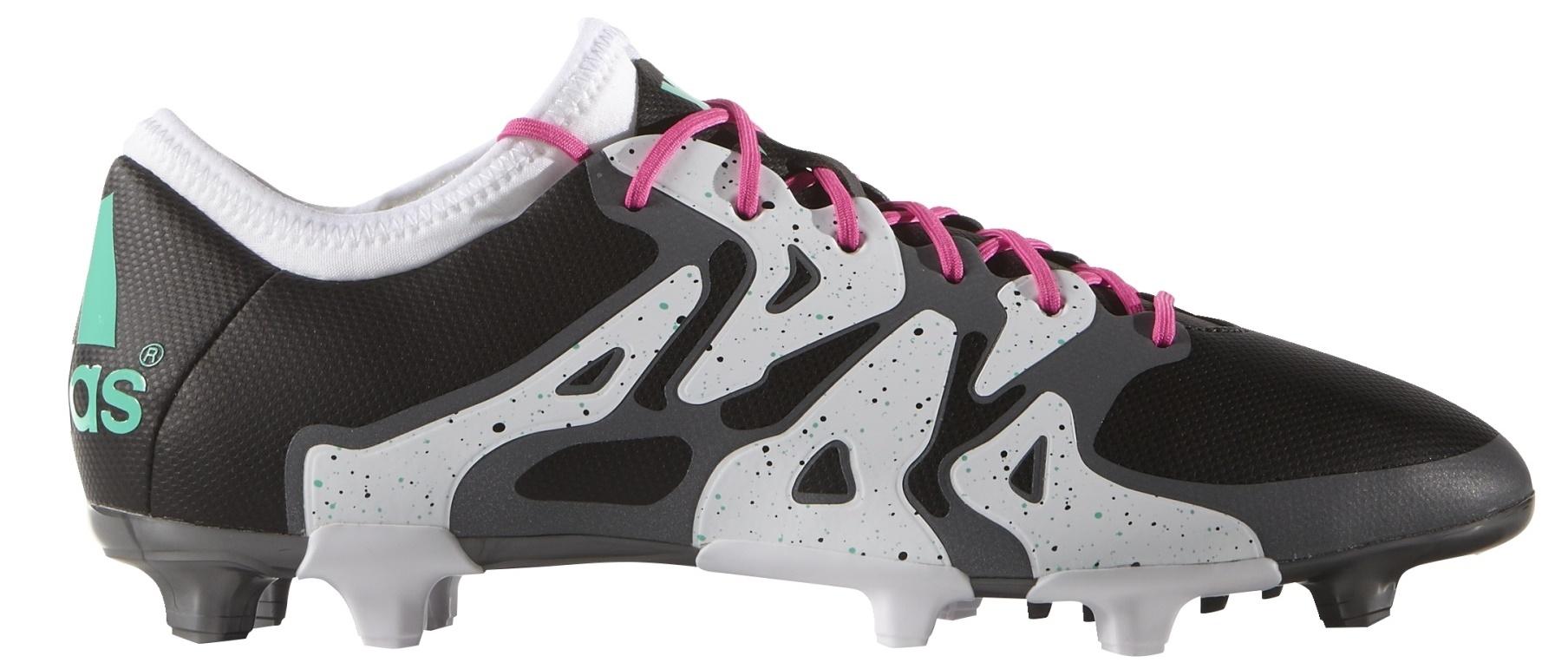 6e62ff0a3b545 Football Boots Adidas X15.2 FG AG colore White Black - Adidas - SportIT.com