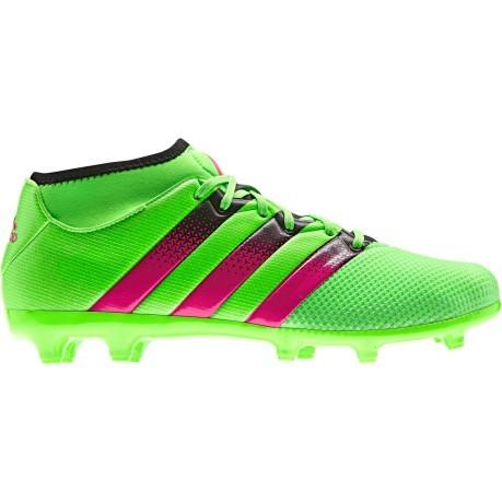 9a7c3bc267530 Scarpe Calcio Adidas Ace 16.3 Primemesh FG AG colore Verde Rosa ...