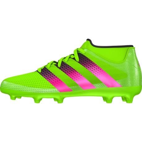 700eb44207c4d Mens Football Ace 16.3 Primemesh FG AG colore Green - Adidas ...