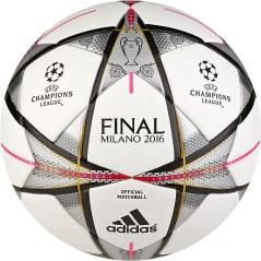 Pallone Finale Milano Official bianco grigio