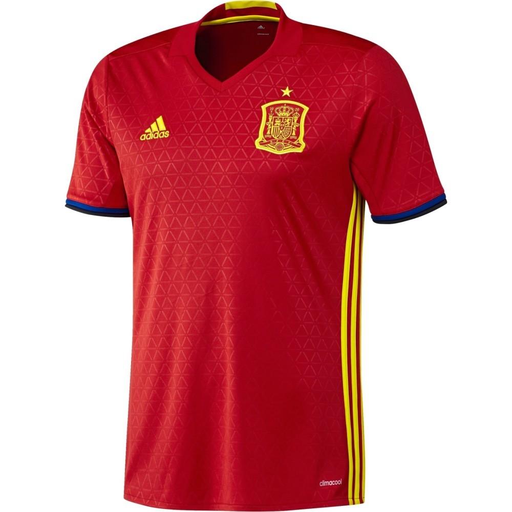 Maglia Spagna Home Euro 2016 Adidas