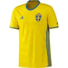 Maglia Uomo Svezia Home Replica giallo azzurro front